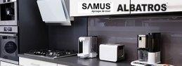 Official website development for ALBATROS and SAMUS