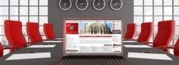 University website implementation