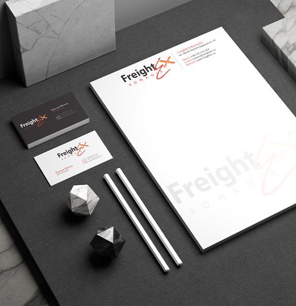 Design brand for transport company