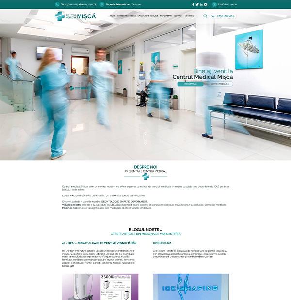 Medical center website development