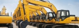Construction equipment and machinery website design