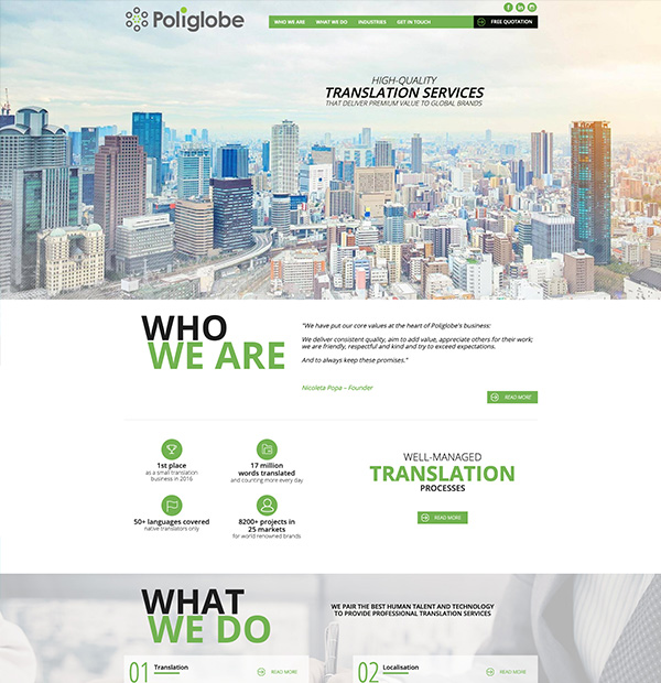 online translation store development