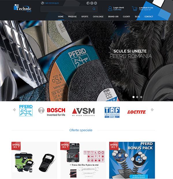Tools eshop design