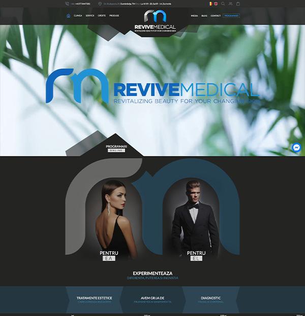 Medical center website design