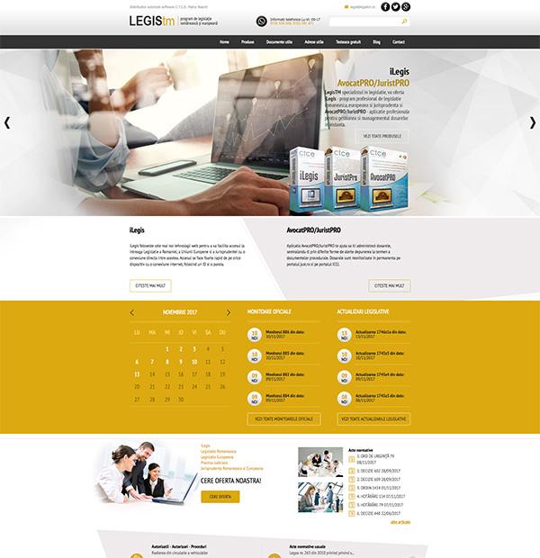 Legislation program website