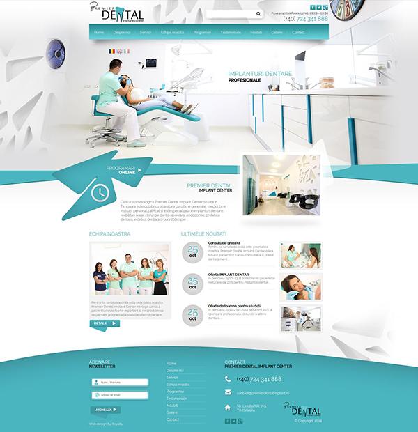 Dental clinic website design | Dentist website design