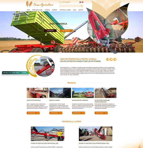 Online product catalogue design