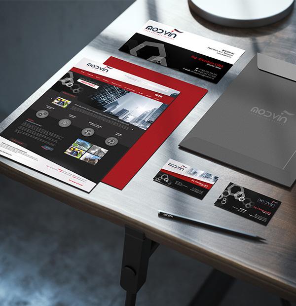 Company brand design