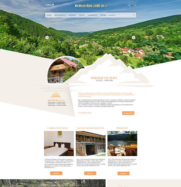 Villa website design