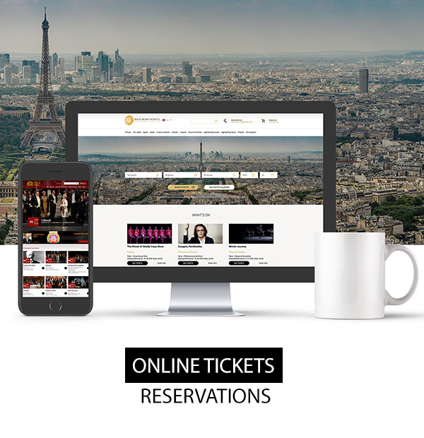 Online ticket reservations website development