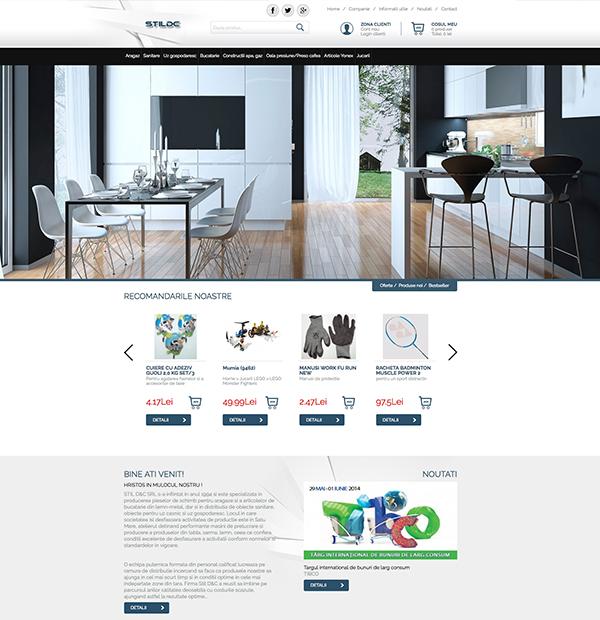 Creare magazin online Satu Mare