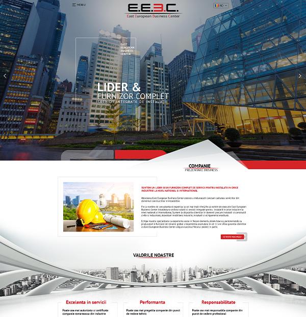 Website design for installation company