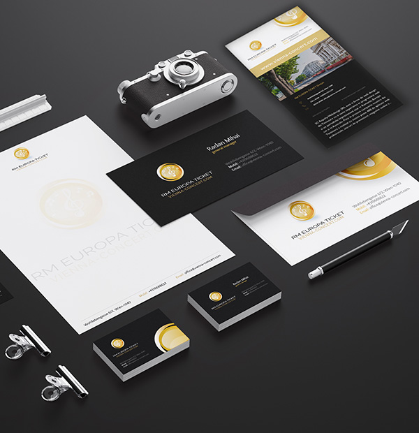 Ticket agency brand design