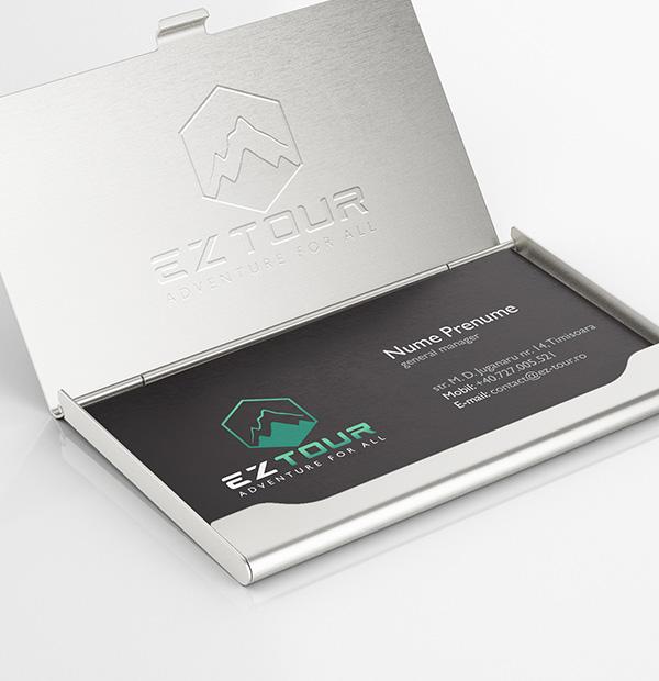 Brand design for travel agency