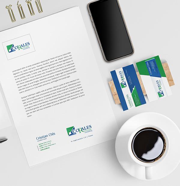 Real estate agency brand design