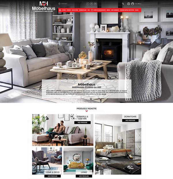Furniture online store development